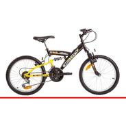 Bicicleta Halley 16335 Full Suspension Rodado 20 Selectogar