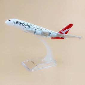 Miniatura/maquete Avião Airbus A380 Qantas