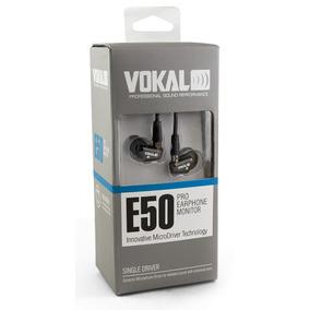 Fone De Ouvido Ponto Monitor Retorno Vokal E50 Pro In Ear