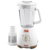 Liquidificador Com Filtro Arno Clic´lav Ln70 Branco 110v