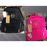 Bolso Morral Cartera Mk Michael Kors Tipo Backpack Mujer