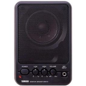 Monitores De Estudio Yamaha Ms101 Ii Impecables El Par