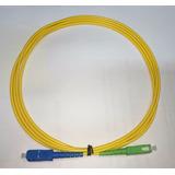 Patch Cord Sc-upc Sc-apc Single Mode Simplex 3.0mm 2 Metros