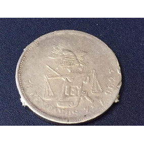 Republica Mexicana 50 Centavos Zacatecas 1886 Z Plata