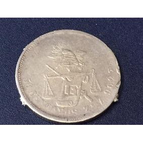 Republica Mexicana 50 Centavos Zacatecas 1886 Z Plata