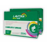 Lavitan Mais Hair 300 Cápsulas - 5 Caixas C/60 Cápsulas Cada