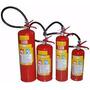 Extintor De Incendio Pó Abc 6 Kg Novo Com Suporte De Parede
