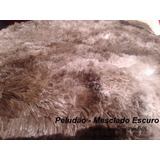 Tapete Mesclado 4,00x2,00 Peludo Felpudo Sala Shaggy Luxo