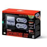 Super Nintendo Nes Classic - 100% Nuevo Con 21 Juegos