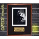 Frank Sinatra Foto Y Entrada Concierto Año 1975