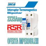 Interruptor Diferencial Bipolar Sica 2x25a