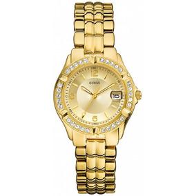 Reloj Guess Dama Dazzling U85110l1 Dorado Nuevo