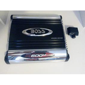 Módulo Amplificador Boss Se600m 1200w 2x600w - 300wrms