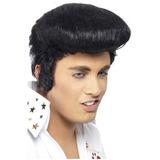 Peluca De Elvis!! Noche De La Nostalgia