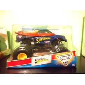Camionetas Monster Jam Batman Y Superman.