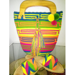 Mochila Wayuu + Sandalia Capellada