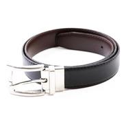 Cinturon Hombre Cuero Reversible Y Talles Especiales