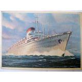 Postal Barco Augustus O G. Cesare 1950