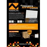 Cerámica Alumina Antidesgaste + Kit Adhesivo