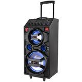Caixa De Som Amplificadora Bluetooth 300w Rms Lenoxx - Ca318