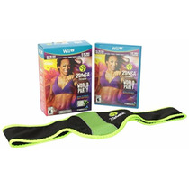 Zumba Fitness World Party Wii U Jogo + Finess Belt P Entrega