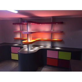Vendo Loja Completa (desmontada)-marcenaria / Ilumincao Led