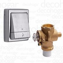 Valvula Descarga + Tecla Doble Inodoro Fv 0368.01 + 0368.04