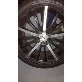 Roda Tsw Drift Black Diamond Aro 17 + Pneu Kunho Aro 17