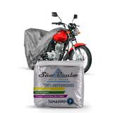 Capa Cobrir Moto Honda Pop 100 Impermeável Proteção Anti Uv