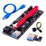 PCB negro - Cable USB azul