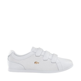 Tenis Casual Lacoste 172154 Color Blanco Piel Is961