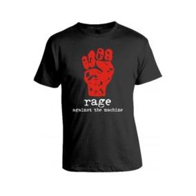 Camiseta Rage Against The Machine Camisas De Rock