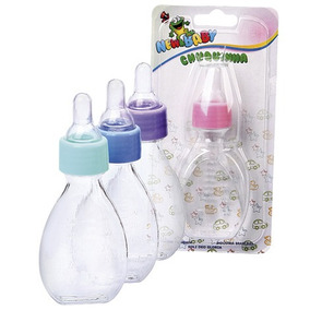 Mamadeira Chuquinha 060ml Color New Baby / 100 Unidades