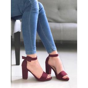Zapatos De Tacon Cubano Mujer Sandalias - Zapatos en Mercado Libre ... 1d306f008c8