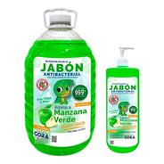 Kit Jabón Para Manos Líquido 5 L + Presentación 1 L Aromas