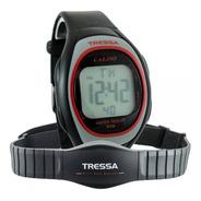 Reloj Pulsómetro Tressa Cardio Monitor Banda Wr 6194 Rojo