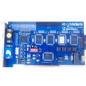 Placa Captura Monitoramento Geovision Gv800 Pci 16 Cameras