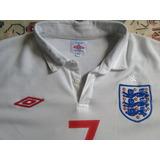 Inglaterra Unif1 Umbro 201012 Beckham no Mercado Livre Brasil e32528be82d73