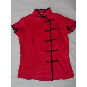 Qipao Camisa Tradicional China