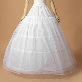 Anágua Saiote 3 Aros Para Vestido Noiva Princesa Debutante
