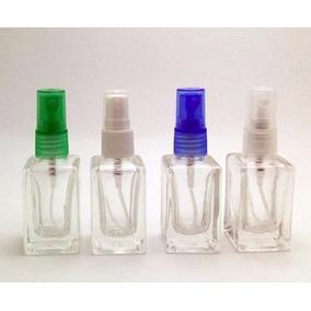 100 Frascos Perfume Decants 10 Ml Vidro Spray Color Quadrado
