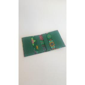 Carteira Feminina Porta Cartão De Crédito Em Tecido