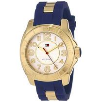 Reloj Original Tommy Hilfiger Dama Sport Oro