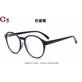 00e93f95ae3b8 Armacao Acetato Grande Redonda Armacoes - Óculos no Mercado Livre Brasil