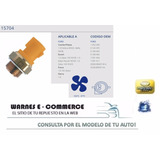 Bulbo Electroventilador Ford Fiesta Escort Orion Courier
