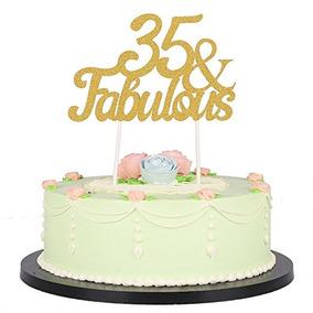 Brillo Del Oro Fabuloso De La Torta, Boda, Cumpleaños, Anive