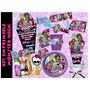 Kit Imprimible Monster High Etiquetas Fiesta Invitacion