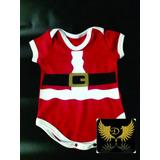 Body Infantil Bory Meu Primeiro Natal Bebê Papai Noel