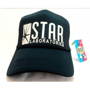 Gorra Trucker Star Laboratories - The Flash Barry  Dos Caras