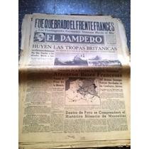 Diario El Pampero 20 Mayo 1940 Nacionalista Paginas 1 A 4